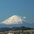 富士山:茅ヶ崎海岸にて