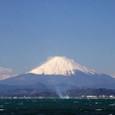 富士山(江の島・弁天橋にて)