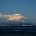 富士山(江の島弁天橋にて)